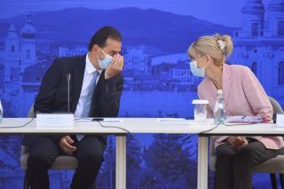 Hangulatképek – Ludovic Orban és miniszterei Kolozsváron