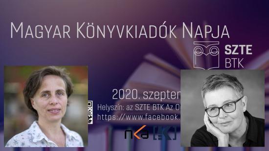 """""""Beszélgessünk"""" online Selyem Zsuzsával és Tompa Andreával Szegedről"""