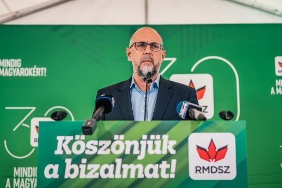 Kelemen Hunor: növeltük polgármestereink számát