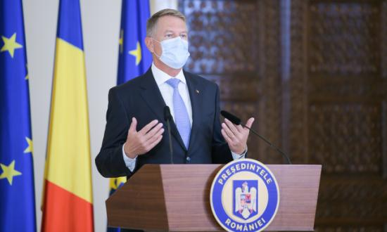 Iohannis: a változás hullámának a parlamentet is el kell érnie