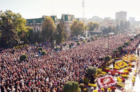 Lemondta legnagyobb zarándoklatát a román ortodox egyház