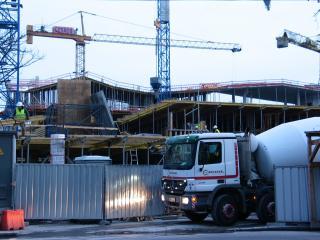 Az első nyolc hónapban 17,3 százalékkal nőtt az építőipari termelés