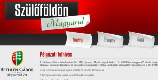 Szülőföldön magyarul – közeleg a leadási határidő
