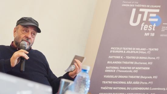 Újraválasztották Tompa Gábort az Európai Színházi Unió elnökévé