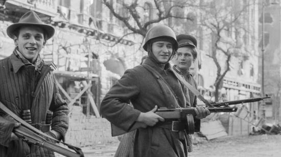 Egy svájci fotós képei az '56-os forradalomról