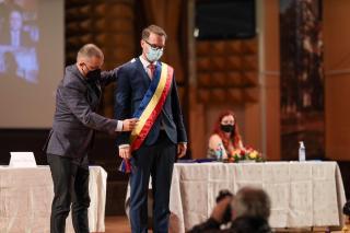 Letette a hivatali esküt Dominic Fritz, Temesvár német állampolgárságú polgármestere