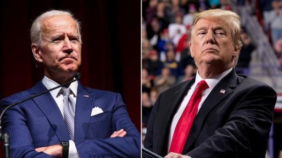 Amerikai elnökválasztás - Trump a Fehér Házban, Biden Wilmingtonban várja az eredményeket kedden