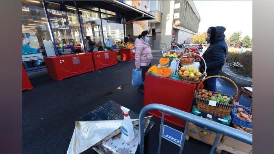 Gyér forgalommal, de működnek a piacok Kolozsváron