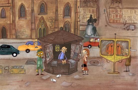 Otthonainkba jön az animációs filmek világa