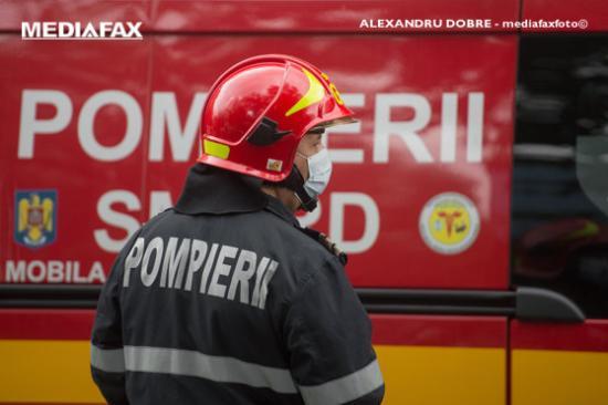 Tűz a kolozsvári CFR-kórházban