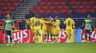 Bajnokok Ligája: könnyedén nyert a Barca a Puskás Arénában
