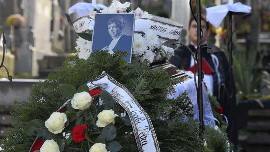 Eltemették Bisztrai Mária színművészt