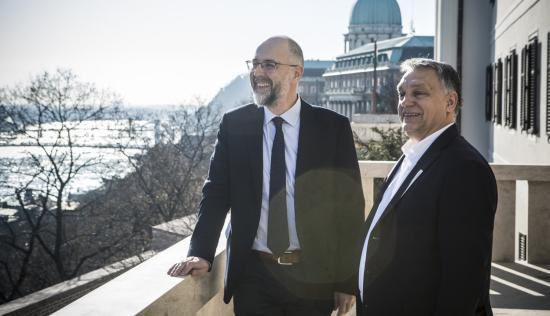 Orbán Viktor: Az RMDSZ kormányzati szerepe javíthatja a magyar-román kapcsolatokat