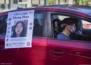 Négy év börtönre ítélték a vuhani járványkitörésről tudósító kínai újságírót
