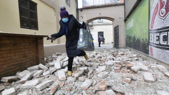 Újabb földrengés rázta meg Horvátországot – Magyarországon is észlelték