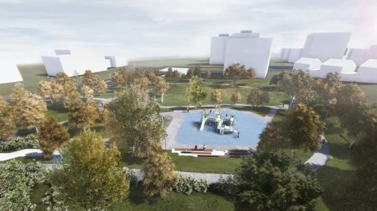 Zöld Kolozsvár: új parkot alakítanak ki a Hajnal negyedben