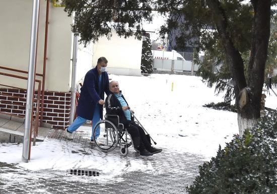 Kolozsvári öregotthon lakóit és dolgozóit oltották be