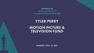 Jean Hersholt Humanitárius Díj Tyler Perrynek és a Mozgókép- és Televíziós Alapnak