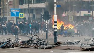Zavargások Hollandiában és Izraelben