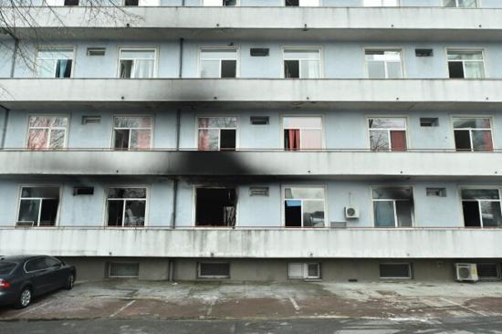 Oxigénpalackok is robbanhattak a tűz kitörését követően a Matei Balş intézetben
