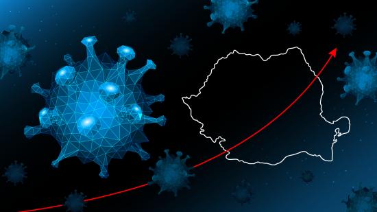 Koronavírus: 2668 új megbetegedés, Bukarestben a legtöbb, Kolozs megye a negyedik