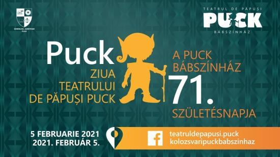 Online ünnepli 71. évfordulóját a Puck Bábszínház