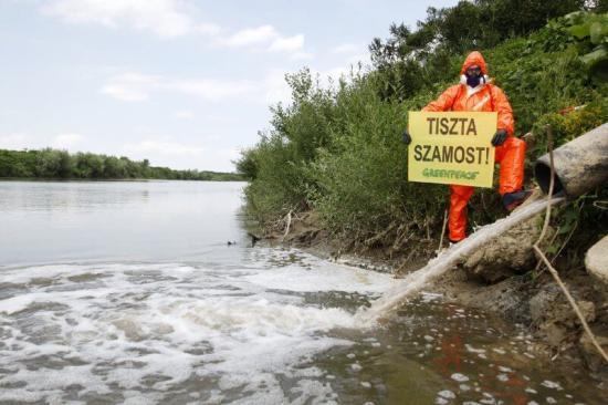 Nehézfémszennyezés a Szamoson (FRISSÍTVE)