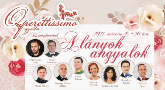 Nőnapi köszöntő az Operettissimo együttestől