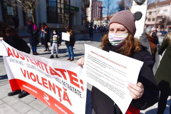 Flashmob a nők jogaiért