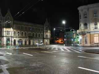 A belvárosban egyáltalán nem ellenőrzik a kijárási korlátozás betartását