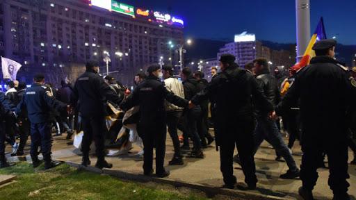 Csendőrség: több mint 400 ezer lejes bírság a tegnapi tüntetések kapcsán