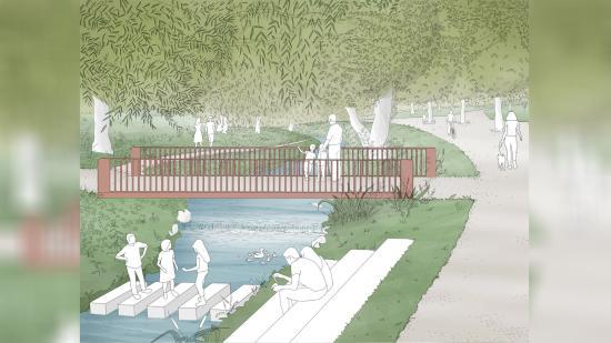 Bővül a Rózsák parkja: új híd, közösségi kertek