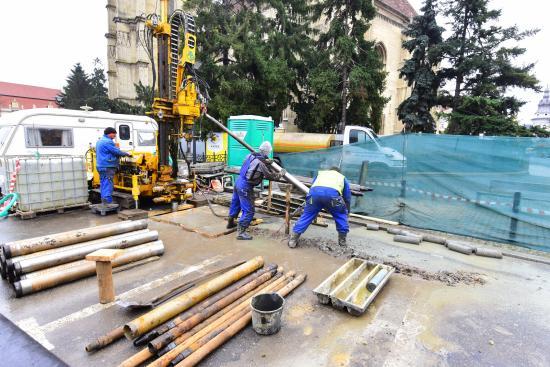 Metró Kolozsváron: a Főtéren is fúrnak