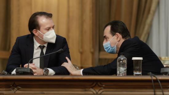 A liberálisok kitartanak Florin Cîţu mellett