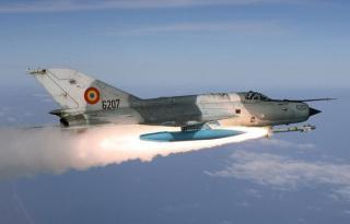 Lezuhant egy MiG vadászgép
