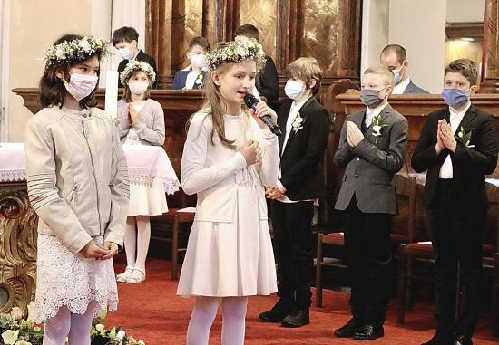 A piarista templomban kezdődött az első szentáldozások sora