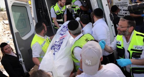 Emelkedett a Merón-hegységben agyontaposott ultraortodox zsidó zarándokok száma