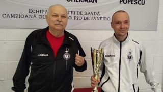 Veterán kolozsvári kupagyőztes vívó