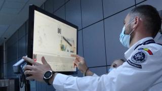 VIDEÓ - Így működik az utramodern kolozsvári csomagellenőrző