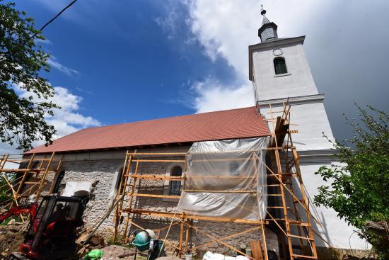 Feltárták a sztánai református templom Árpád-kori elődjét