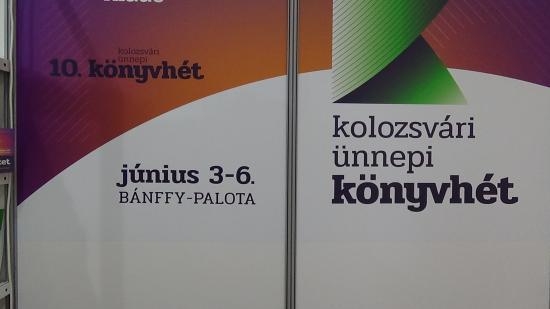 VIDEÓ - Kezdődik a 10. Kolozsvári Ünnepi Könyvhét