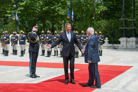 Iohannis: Románia és Izrael között kiváltságos stratégiai kapcsolat létezik