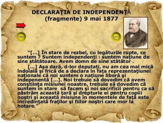 Új ünnep: május 10-e a nemzeti függetlenség napja