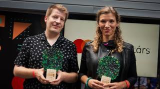 André Ferenc és Czakó Zsófia nyerte a Mastercard – Alkotótárs ösztöndíjakat