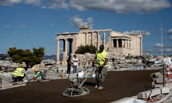 A lebetonozott Akropolisz, avagy a kapitalizált világörökség