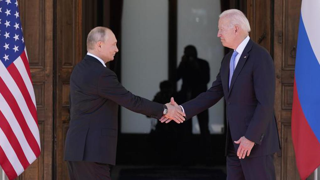 Putyin–Biden-csúcstalálkozó Genfben