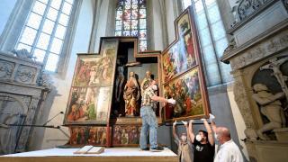 Dürer egy eddig ismeretlen festményét fedezhették fel