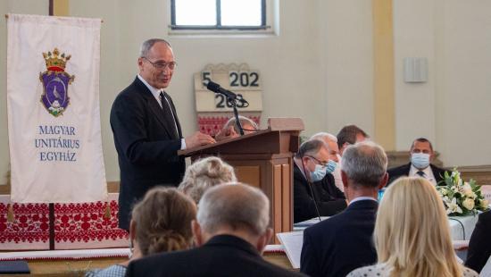 Kovács István a Magyar Unitárius Egyház 32. püspöke