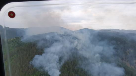 Tűz a Vaskapu Nemzeti Parkban (FRISSÍTVE)
