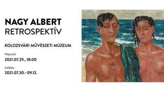 Nagy Albert retrospektív kiállítás nyílik